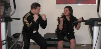 EMS Training mit Christian