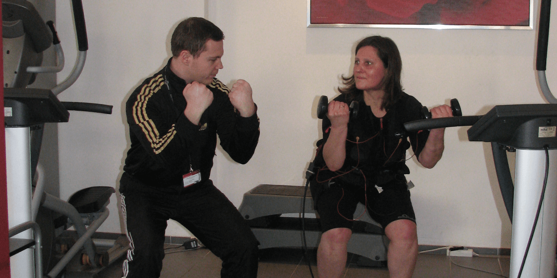 EMS Training mit Christian